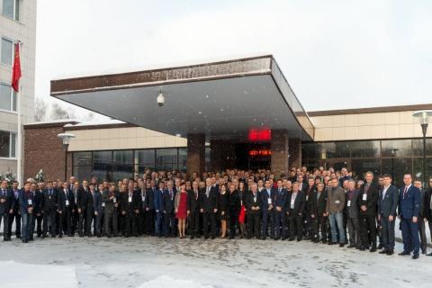Заседание Совета главных механиков нефтеперерабатывающих и нефтехимических заводов с участием Ю.В. Кожухова и С.В. Карташова (декабрь 2016 года).
