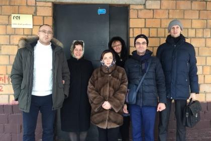 Рабочая встреча руководителей научно-инжинирингового центра с коллективом НТЦ при Совете Главных Механиков в их офисе Москве