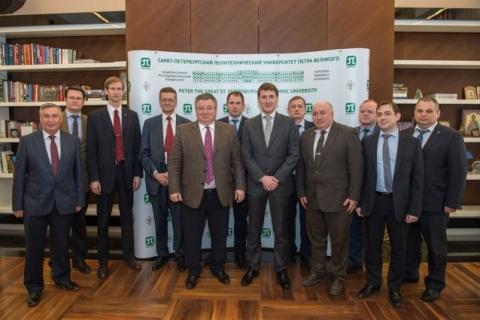 Встреча с руководством Департамента 335 ПАО Газпром