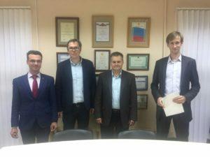Встреча с руководством представительства компании Ариель в России.