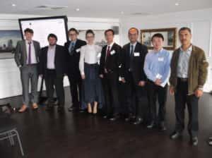 Сотрудники научно-инжинирингового центра на научной конференции в Лондоне