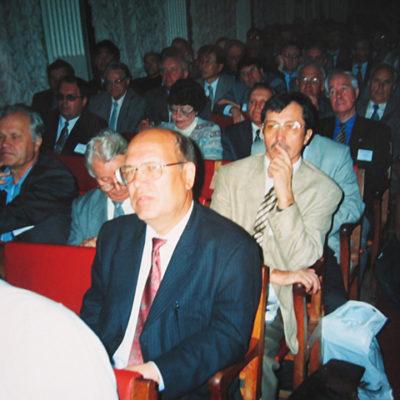 Симпозиум 2000 год: Участники симпозиума в конференц-зале Дома ученых Санкт-Петербургского политехнического университета