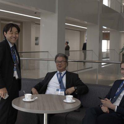 Симпозиум 2019: участники от Mitsubishi heavy industries