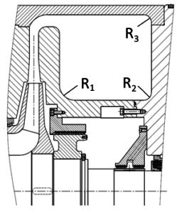 Рис.1. Общий вид исходной конструкции выходного устройства