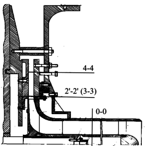 Рис. 1. Схема экспериментальной модельной ступени