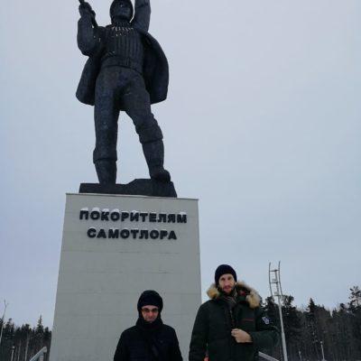Рабочий визит Ю.В. Кожухова и С.В. Карташов в Нижневартовск.