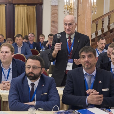 """Конференция 2021: вопрос докладчикам задает Г.Г. Латыпов АО """"Силовые машины"""""""