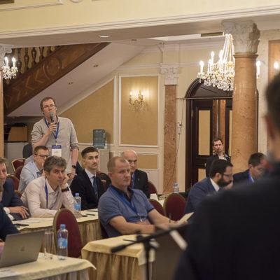 Конференция 2021: вопрос докладчикам задает П.А. Рогов - Ariel Corporation