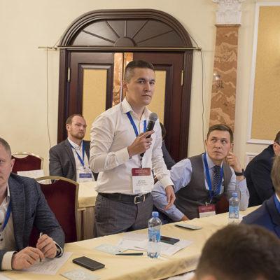 """Конференция 2021: вопрос докладчикам задает А.А. Биктимиров, ООО """"Газпромнефть развитие"""""""